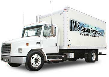 JWS Mobile Wash Vehicle