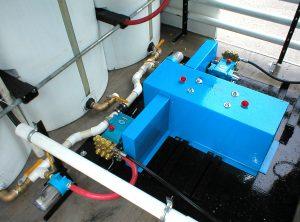 Mobile Wash Vehicle - High Volume Fluid Pumps